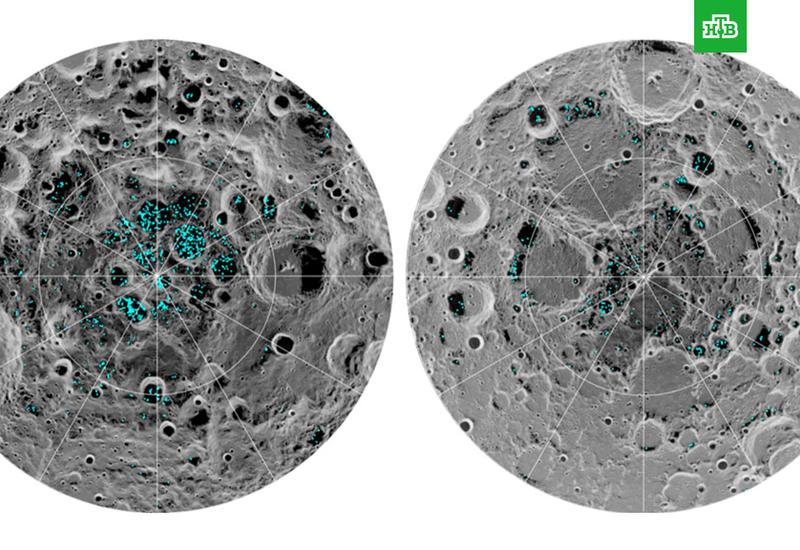 Ученые доказали наличие льда на Луне