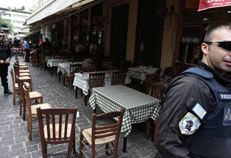 В Греции прогремел взрыв