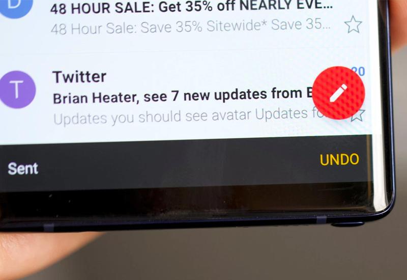 Gmail для Android разрешит отменить отправленное письмо