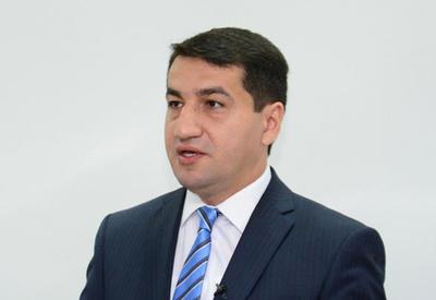Хикмет Гаджиев: Азербайджан всегда готов к конструктивным переговорам, служащим урегулированию армяно-азербайджанского конфликта