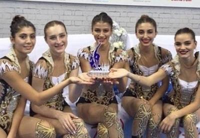 Азербайджанские гимнастки стали победителями Кубков мира серии Challenge