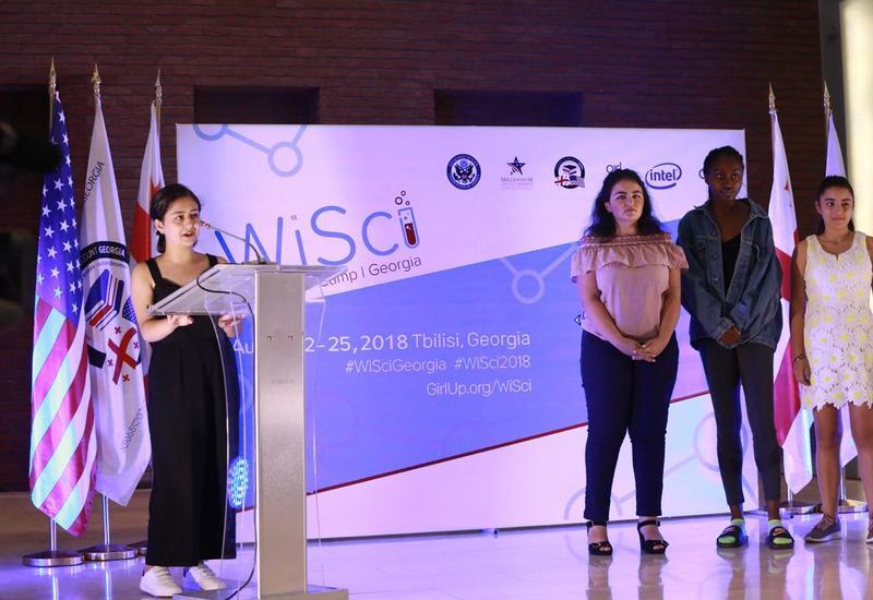 """""""Женщины в науке"""" - Юные азербайджанки приняли участие в международном проекте 5th WiSci"""