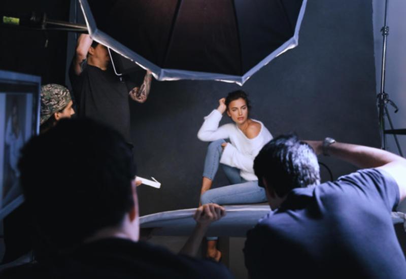 Ирина Шейк в новой рекламной кампании