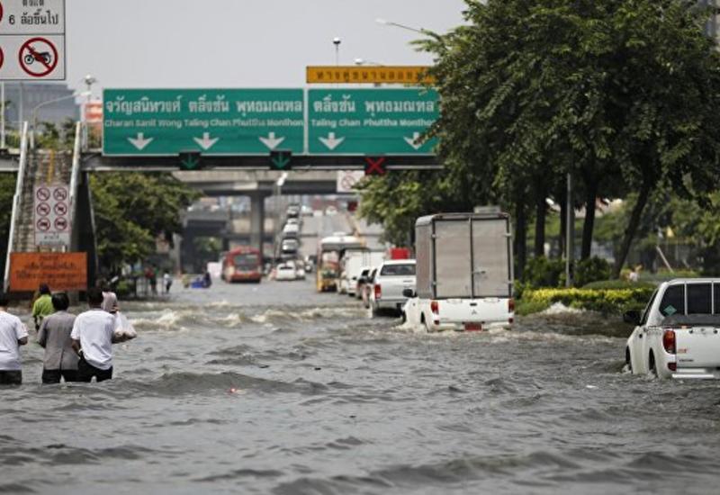 Сильные наводнения в Таиланде, более 150 тыс. пострадавших