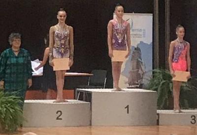 Азербайджанская гимнастка завоевала бронзу международного турнира в Варне