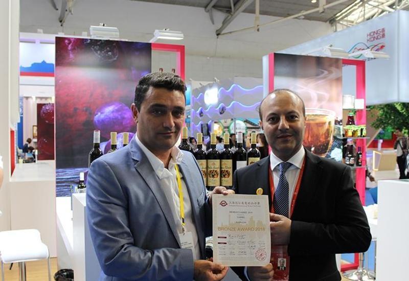 Азербайджанские вина удостоены наград на международном конкурсе