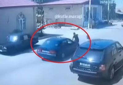 """Жуткие кадры наезда на пешехода в Баку <span class=""""color_red"""">- ВИДЕО</span>"""