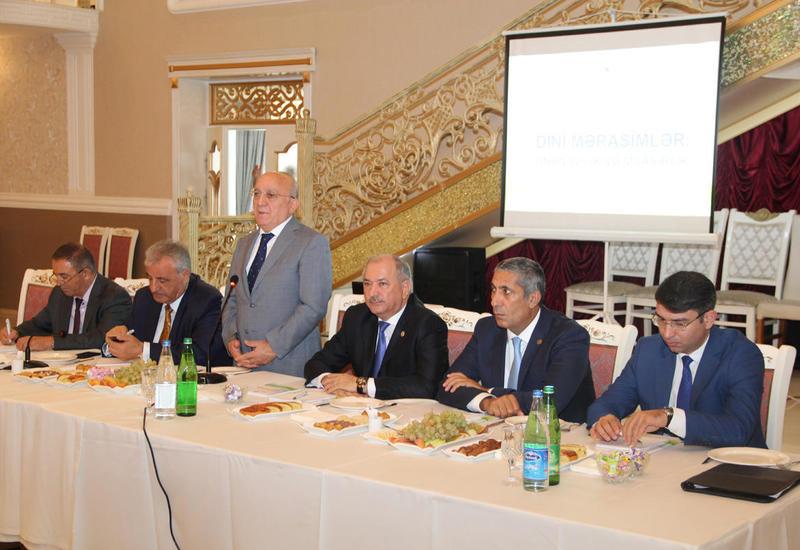 Госкомитет о проведении церемонии Ашура в Азербайджане
