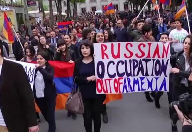 Пашинян - главный заказчик антироссийских процессов в Армении