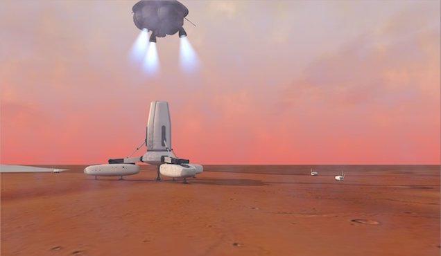 Ученые представили новый план колонизации Марса