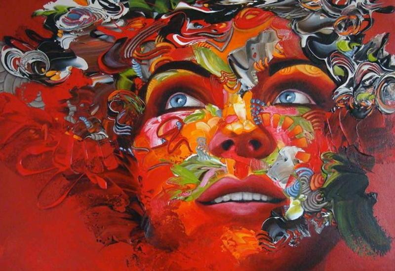 """""""Картинная галерея"""" Day.Az: Сгусток энергии из цвета и линий"""