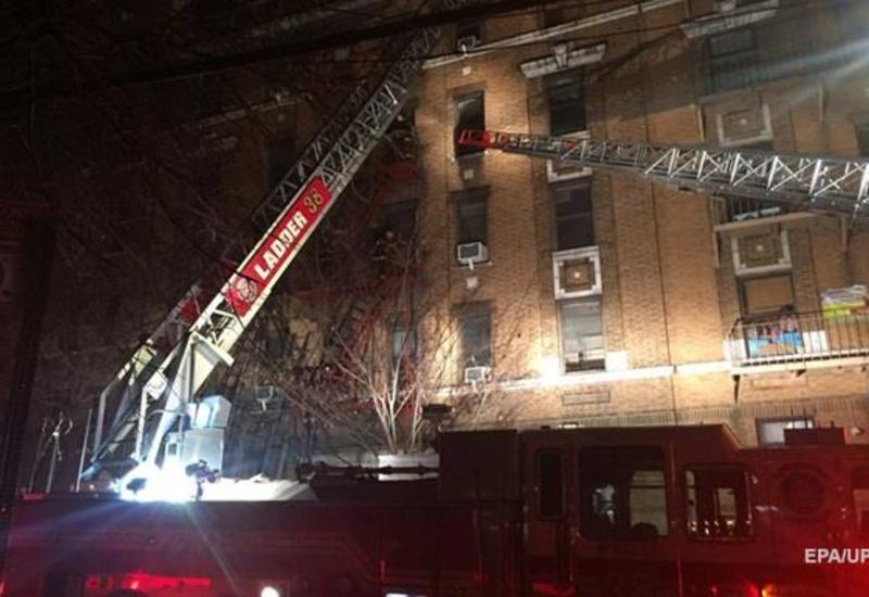 Масштабный пожар в нью-йоркском торговом центре: 21 пострадавший