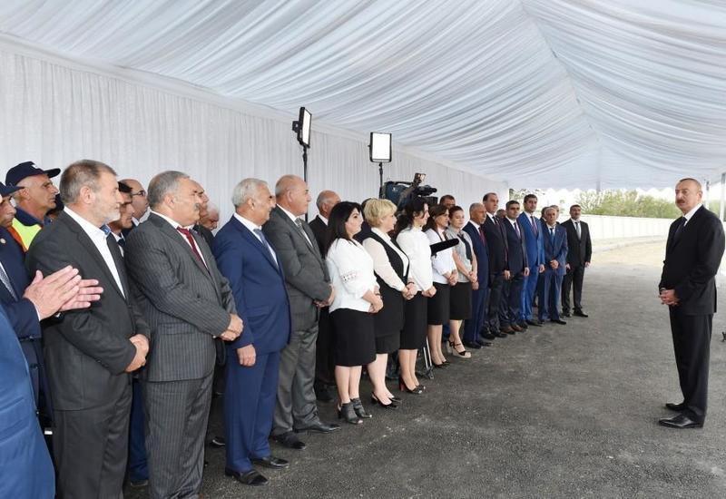 Президент Ильхам Алиев: Несколько дней назад азербайджанские солдаты преподали такой урок врагу, что он вряд ли в ближайшие дни придет в себя