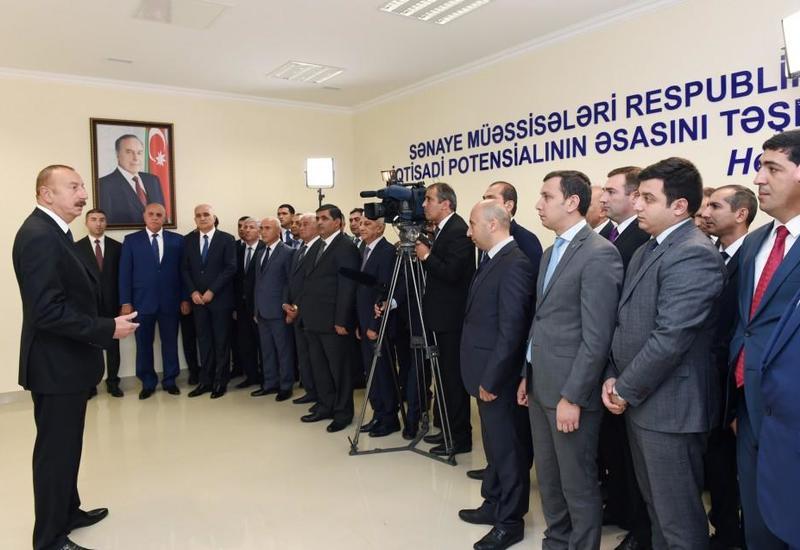 Президент Ильхам Алиев: Открытие магистральной дороги Баку-Астара - исторический проект, показывает возможности Азербайджана