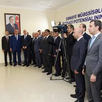 Президент Ильхам Алиев: Азербайджан находится на очень верном пути в развитии промышленности