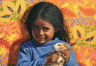 """Картинная галерея"" Day.Az: Эквадорский художник-портретист <span class=""color_red"">- ФОТО</span>"