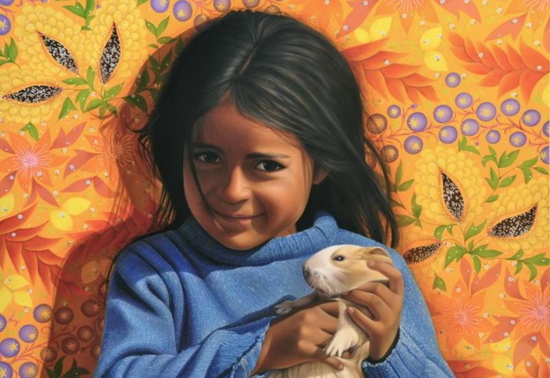 """""""Картинная галерея"""" Day.Az: Эквадорский художник-портретист"""