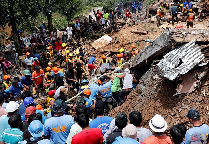 """Число жертв тайфуна """"Мангхут"""" на Филиппинах выросло до 81"""