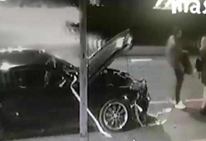 Дима Билан попал в аварию в Москве