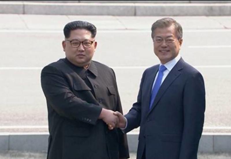 Ким Чен Ын поблагодарил Мун Чжэ Ина за его стремление к миру