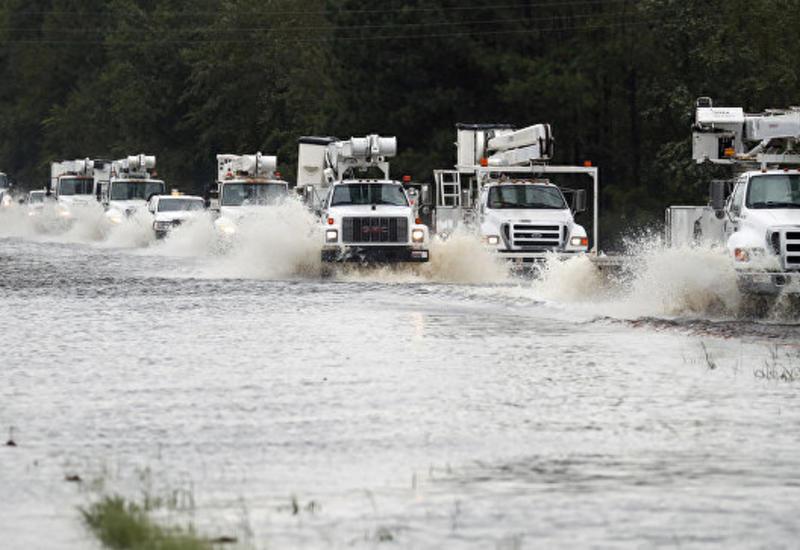 """В США ожидают вторую волну паводка после урагана """"Флоренс"""""""