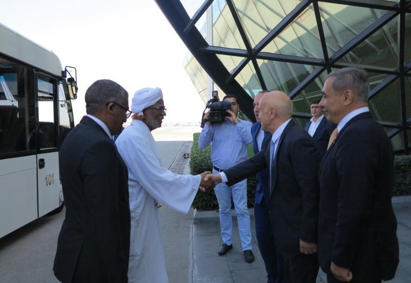 Начался визит председателя Национальной ассамблеи Судана в Азербайджан