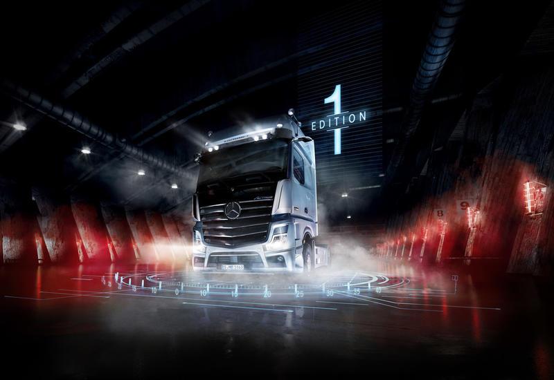 """Новейший Mercedes-Benz Actros начинает серийное производство <span class=""""color_red"""">- ФОТО</span>"""