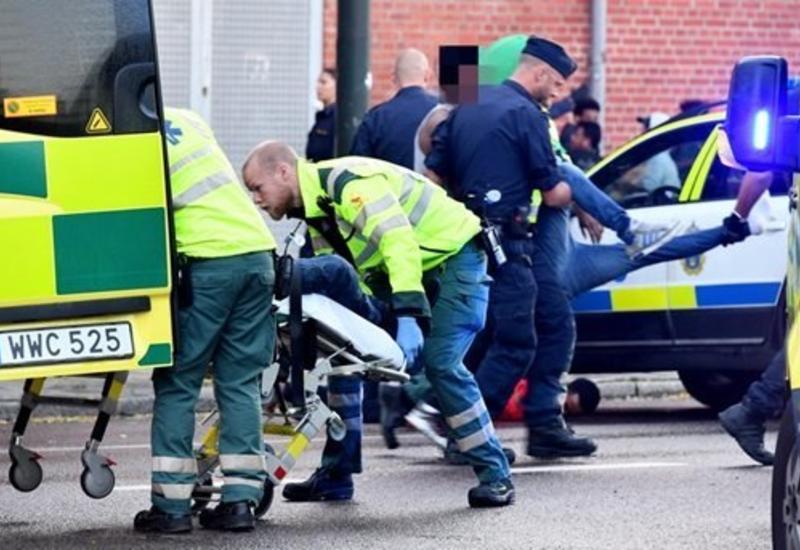 Стрельба в Стокгольме, есть раненые
