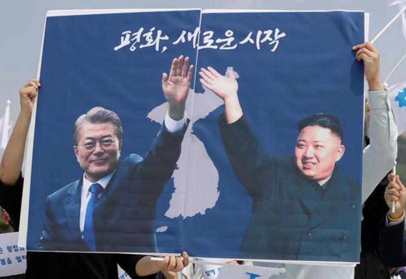 Ким Чен Ын передал послание Трампу через Мун Чжэ Ина