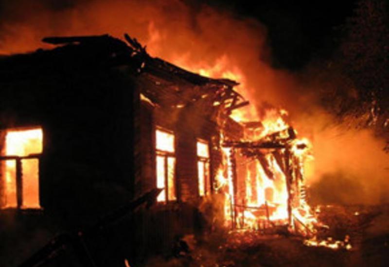 В здании Губинской школы произошел сильный пожар