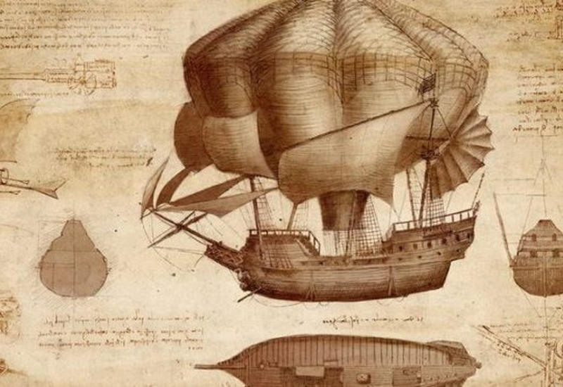 Невероятные изобретения Леонардо даВинчи