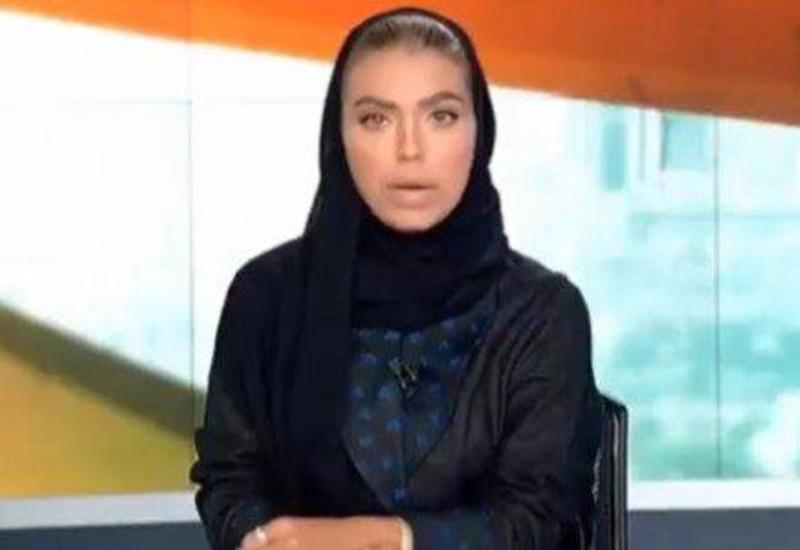 Женщина впервые стала телеведущей на госканале в Саудовской Аравии