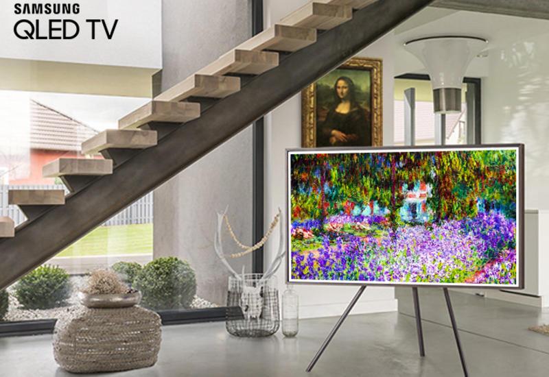 Художник в стиле «Импрессионизма» - Samsung Qled TV