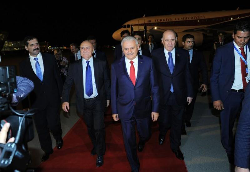 Председатель Великого национального собрания Турции находится с визитом в Азербайджане