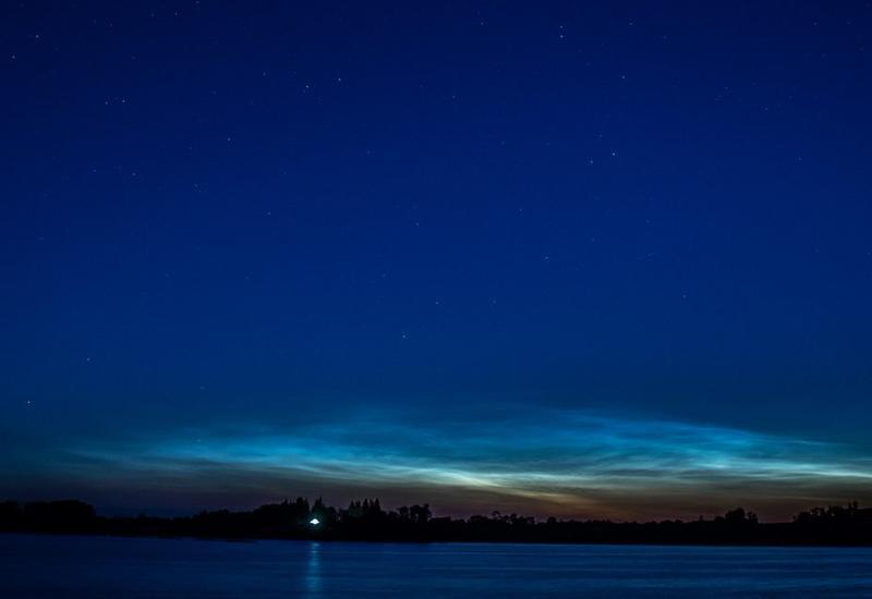 "NASA засняло редкие светящиеся облака <span class=""color_red"">- ВИДЕО</span>"