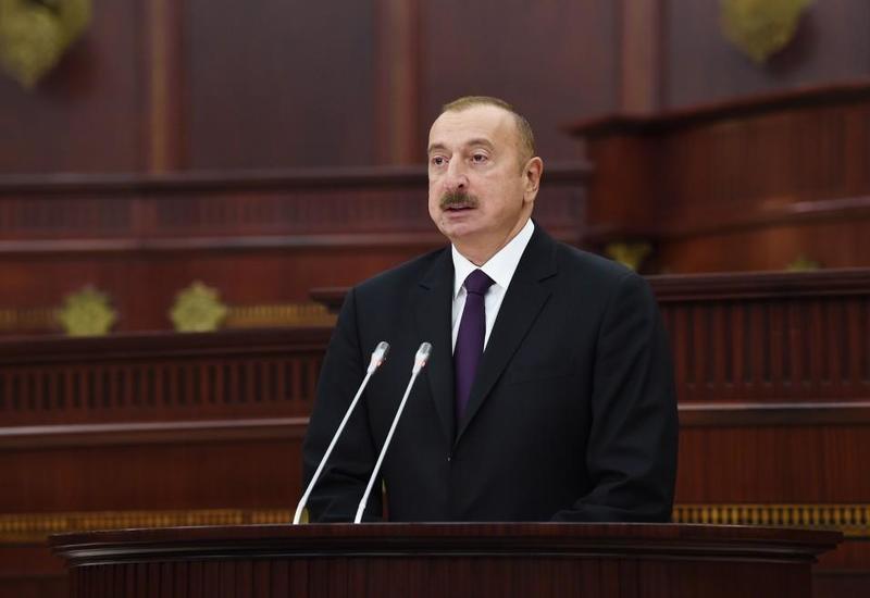 Президент Ильхам Алиев: Наша политика – полностью изолировать Армению, расшатать ее экономические устои
