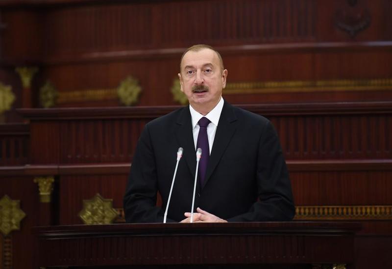 Президент Ильхам Алиев: В сегодняшнем развитии Азербайджана есть и вклад парламента страны