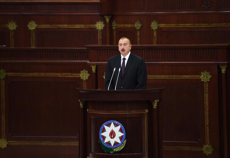Президент Ильхам Алиев: Настало время принять очень серьезные меры против агрессора