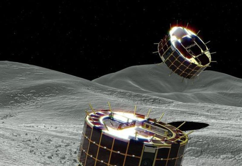 Японцы потеряли связь с севшими на астероид аппаратами