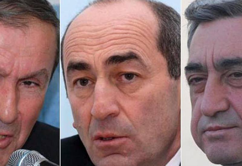 """Бывшие президенты Армении """"послали"""" нового премьера"""