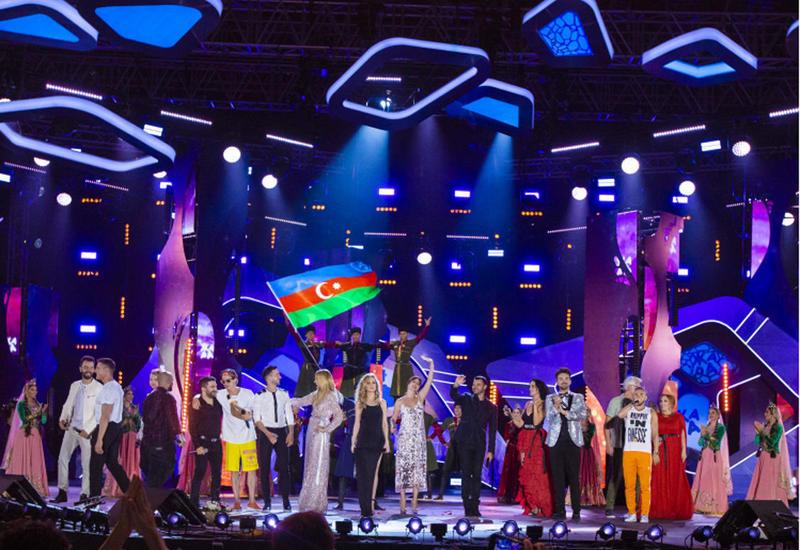 """Фестиваль """"Жара"""" в Баку показывает самый высокий рейтинг на телеканалах России"""