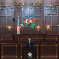 """Президент Ильхам Алиев: В сегодняшнем развитии Азербайджана есть и вклад парламента страны <span class=""""color_red"""">- ФОТО - ВИДЕО</span>"""