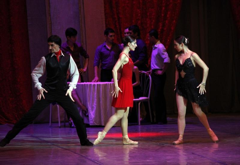 """В рамках Х Музыкального фестиваля Узеира Гаджибекова состоялся показ балета «Любовное танго» <span class=""""color_red"""">- ФОТО</span>"""