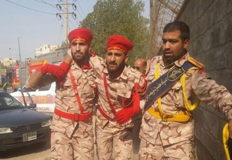 Теракт в Иране засняли на камеры