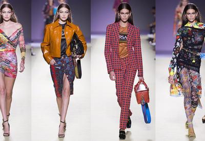 """Весенне-летняя коллекция Versace для сильных женщин <span class=""""color_red"""">- ФОТО</span>"""