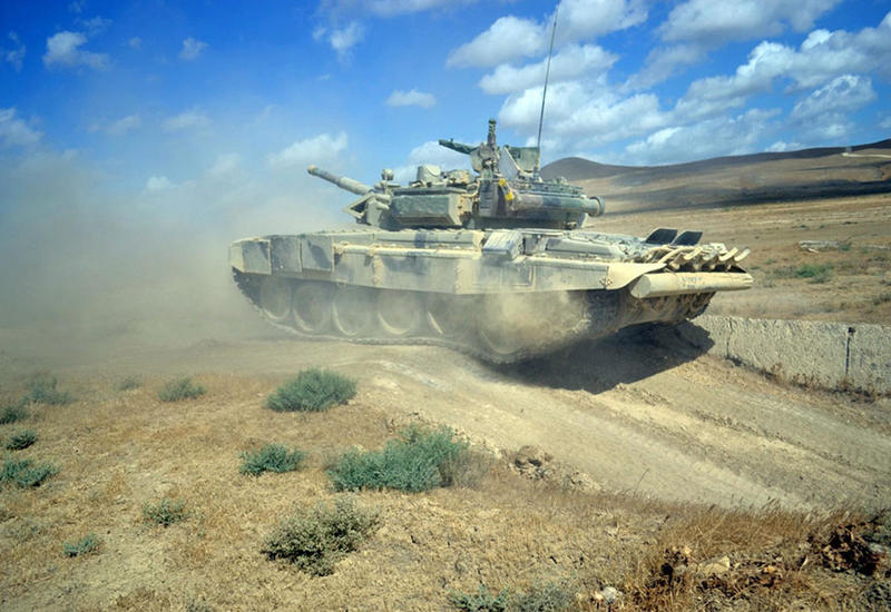 """В азербайджанской армии стартовали соревнования за звание лучшей танковой роты <span class=""""color_red"""">- ФОТО - ВИДЕО</span>"""