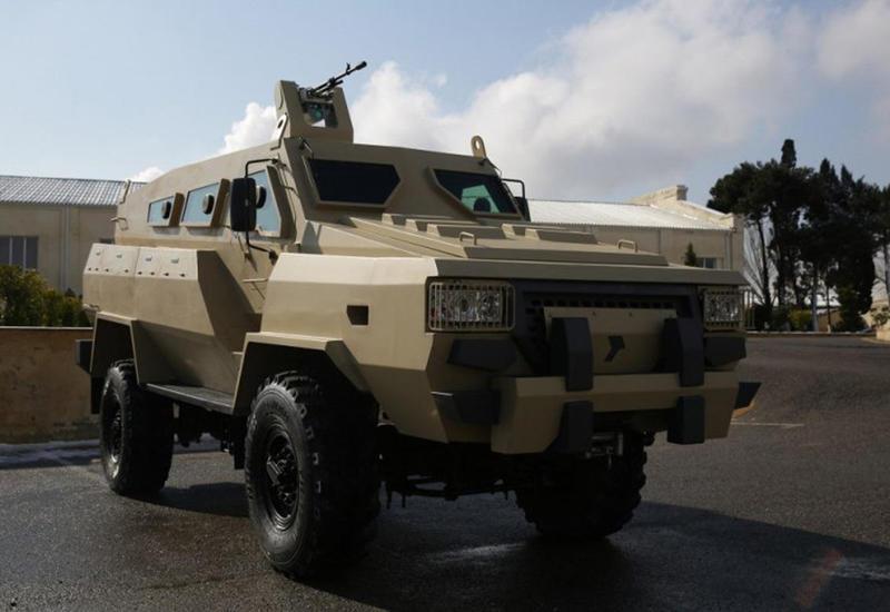 Азербайджан представит на оборонной выставке ADEX-2018 бронемашину «Туфан»