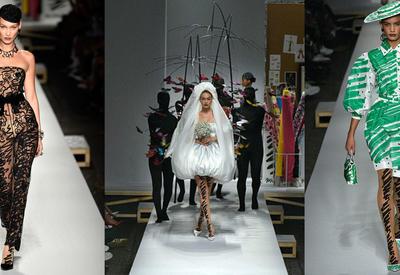 """Модели в качестве произведений искусств на показе Moschino <span class=""""color_red"""">- ФОТО</span>"""