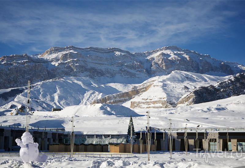 Шахдаг вошел в топ-3 популярных курортов для горнолыжного отдыха в СНГ