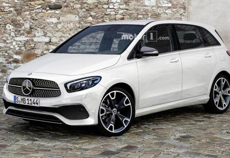 """В Париже представят новый Mercedes-Benz B-Класса <span class=""""color_red"""">- ФОТО</span>"""